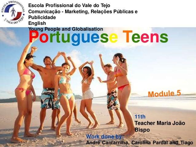 Escola Profissional do Vale do Tejo  Comunicação - Marketing, Relações Públicas e  Publicidade  English  Young People and ...
