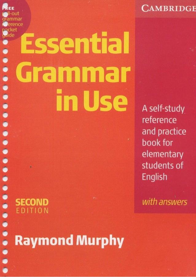 Inglês   raymond murphy - essential grammar in use