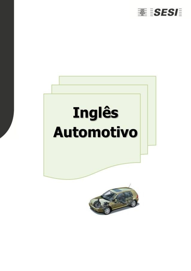 Inglês Automotivo