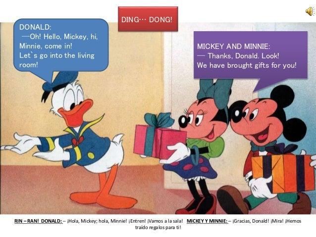 Ingl S Con El Pato Donald