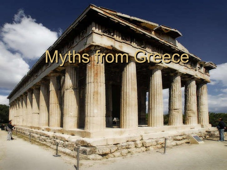 Myths from Greece