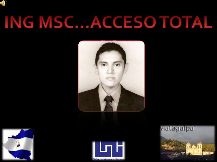 ING MSC…ACCESO TOTAL<br />