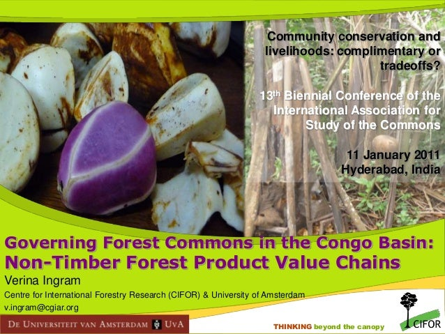 Community conservation and livelihoods: complimentary or tradeoffs? 13th Biennial Conference of the International Associat...