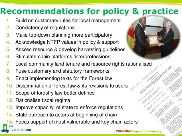 Governance Arrangements  Vulnerability And Forest Users In