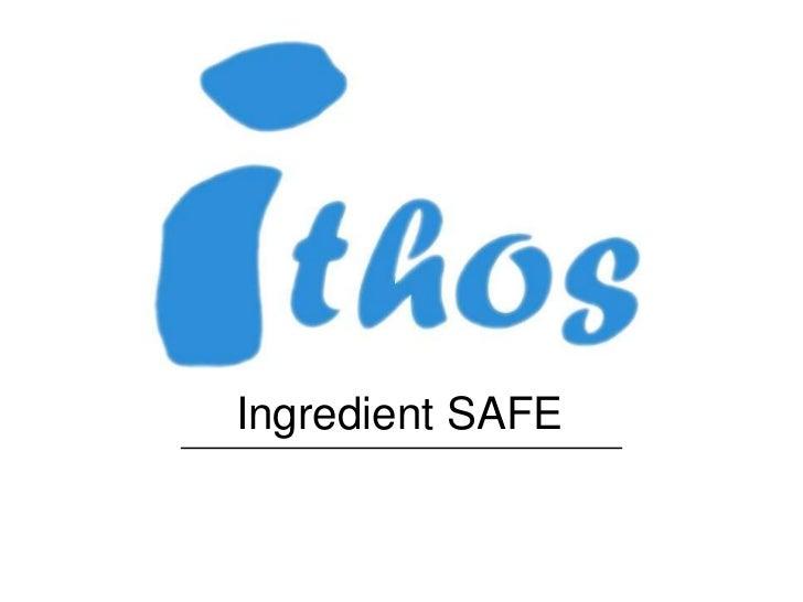 Ingredient SAFE