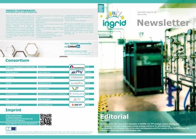 INGRID Newsletter - N°5 Mar 2017