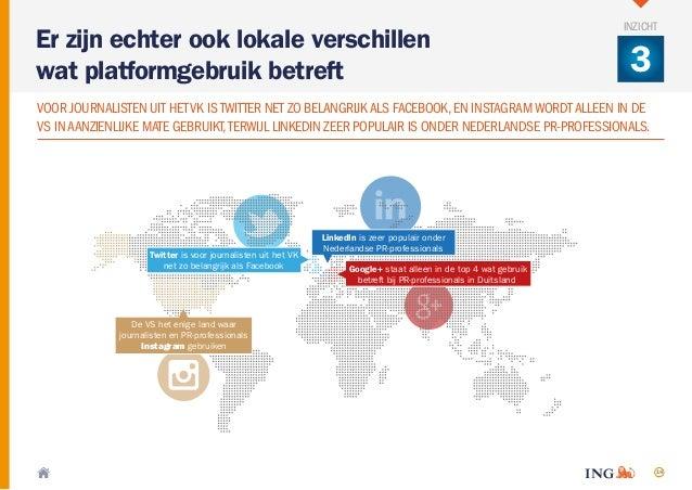 14 Google+ staat alleen in de top 4 wat gebruik betreft bij PR-professionals in Duitsland Twitter is voor journalisten uit...