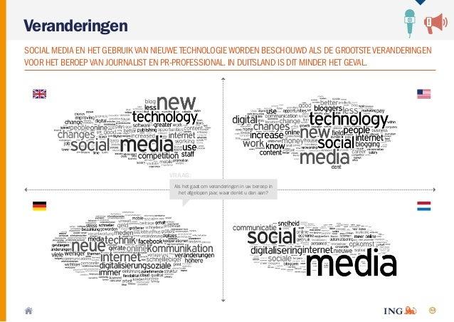 63 Veranderingen SOCIAL MEDIA EN HET GEBRUIK VAN NIEUWE TECHNOLOGIE WORDEN BESCHOUWDALS DE GROOTSTEVERANDERINGEN VOOR HET ...