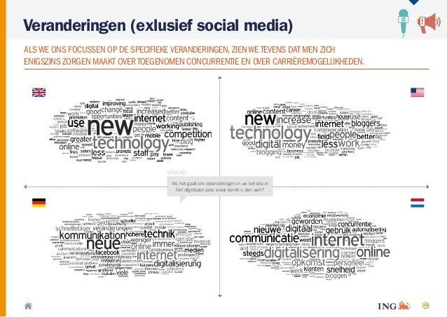 64 Veranderingen (exlusief social media) ALSWE ONS FOCUSSEN OP DE SPECIFIEKEVERANDERINGEN,ZIENWE TEVENS DAT MEN ZICH ENIGS...