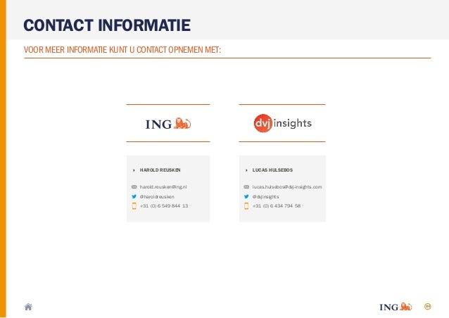 84 CONTACT INFORMATIE VOOR MEER INFORMATIE KUNT U CONTACT OPNEMEN MET: LUCAS HULSEBOS lucas.hulsebos@dvj-insights.com @dvj...