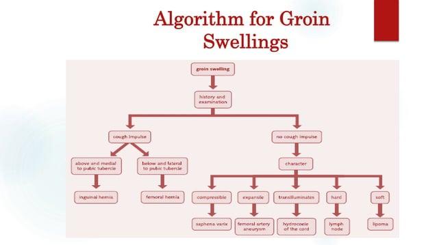 Algorithm for Groin Swellings