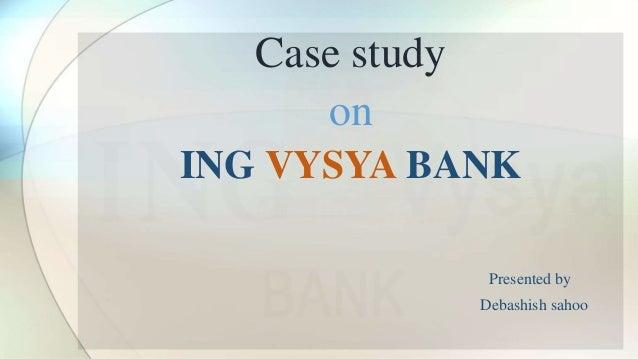 ing case study