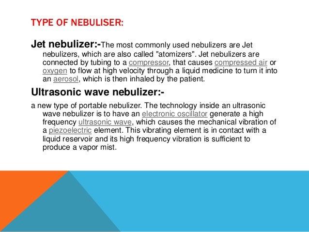 Nebulizer definition