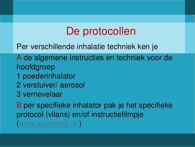 vernevelen protocol