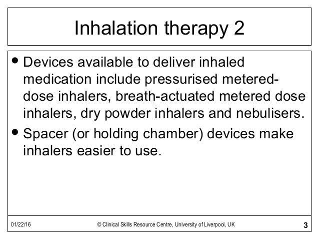 Inhaler Devices Slide 3