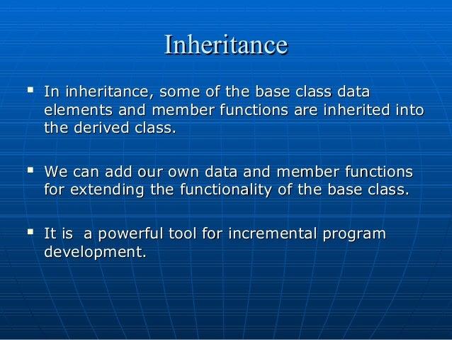 Inheritance OOP Concept in C++.