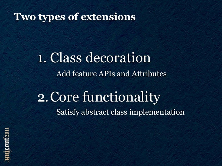 Class extensionsY.Base.create = function(NAME, SuperClass, ext, proto, static)Y.Overlay = Y.Base.create(overlay, Y.Widget,...
