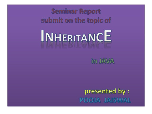 Inheritance in java ppt toneelgroepblik Gallery