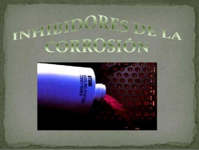 Existen diferentes métodos para      evitar la corrosión como son: Selección y Diseño de un sistema    con materiales res...
