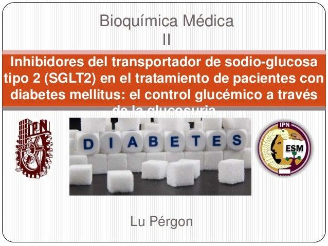 Bioquímica Médica II Inhibidores del transportador de sodio-glucosa tipo 2 (SGLT2) en el tratamiento de pacientes con diab...