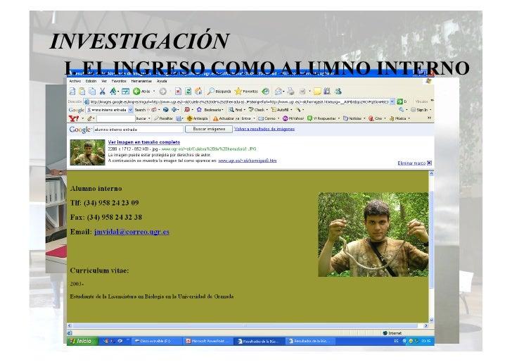 Iniciación a la investigación  Pedro Sánchez Slide 3