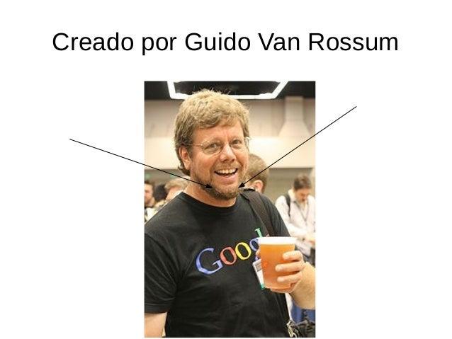 guido van rossum essays Python documentation index python essays in this directory i place short essays --guido van rossum table of contents.