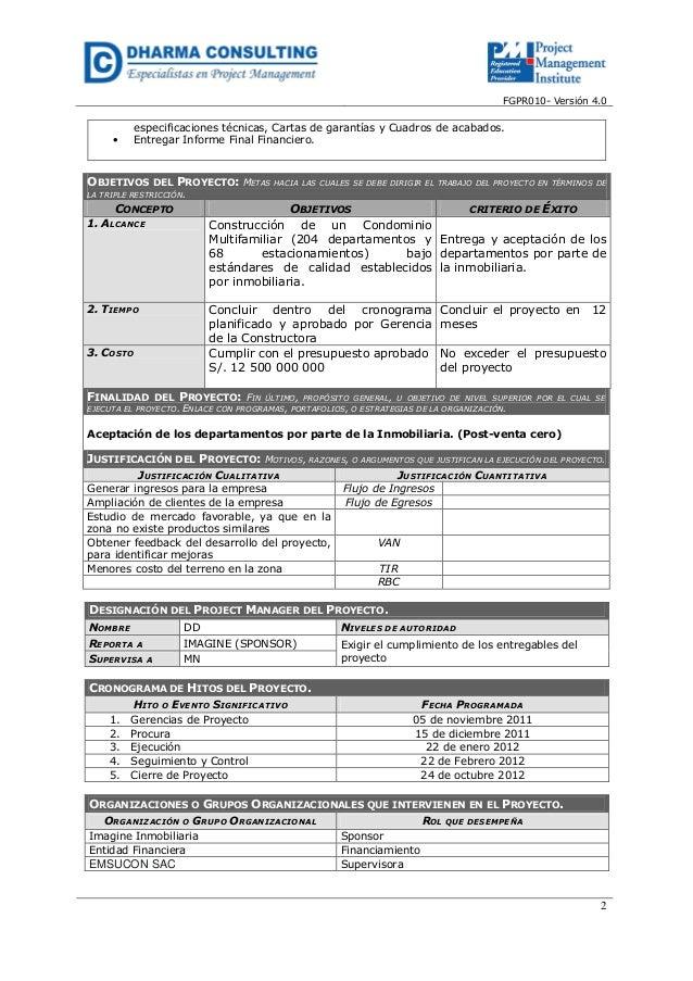 Caso Completo – Construcción de Complejo Habitacional AQUAMARINA – In…