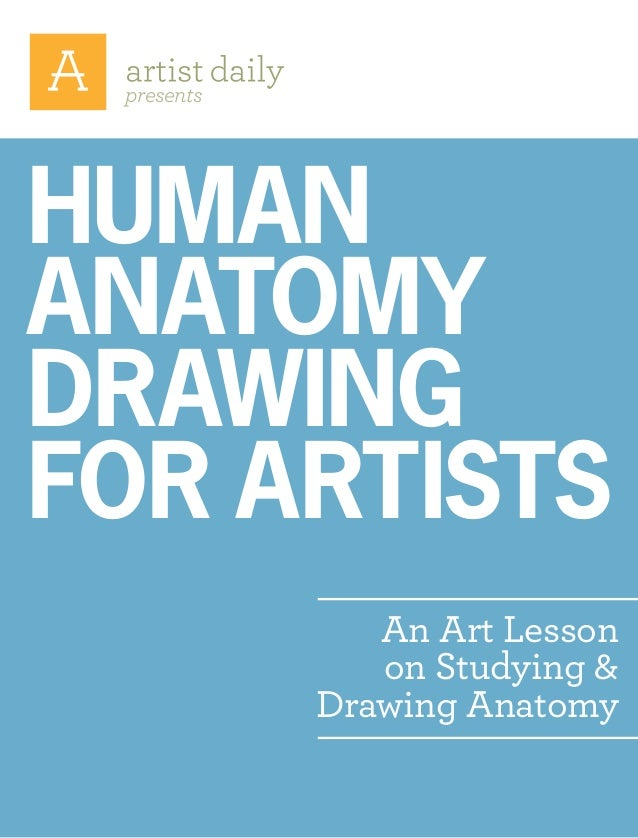 presents An Art Lesson on Studying & Drawing Anatomy Human anatomy drawing for artists