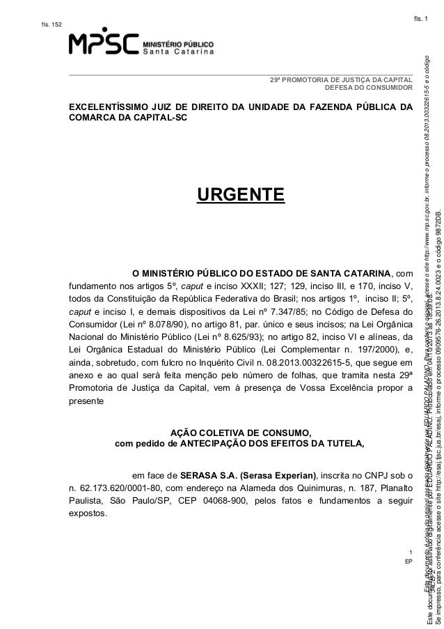 Ação Civil Pública n. 0909576-26.2013.8.24.0023