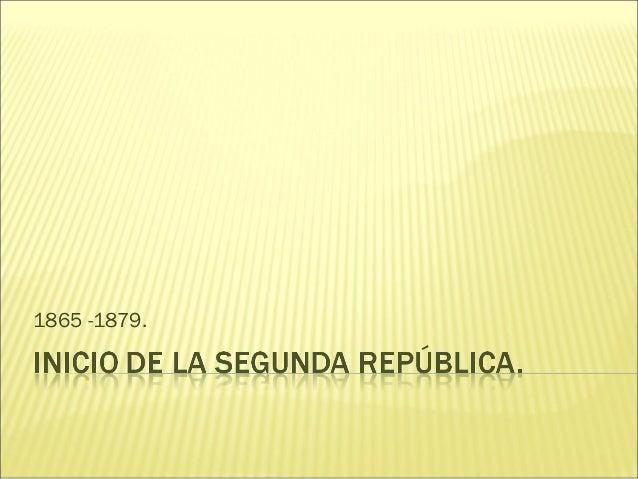 1865 -1879.