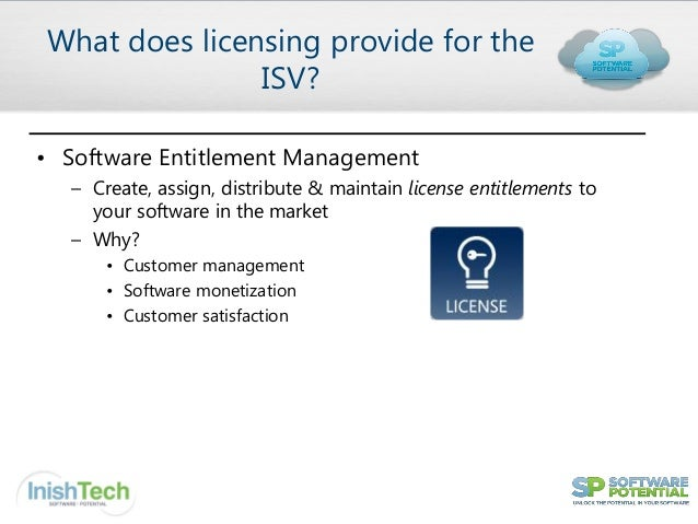 Software Licensing for SaaS Applications Slide 3