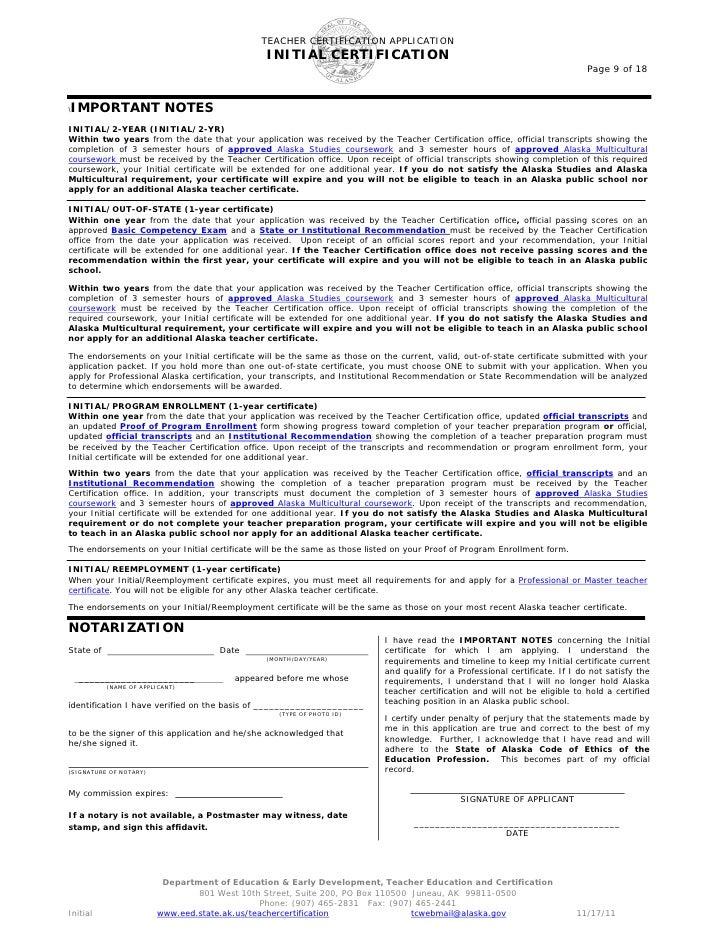 Outstanding Alaska Teacher Certification Mold Online Birth