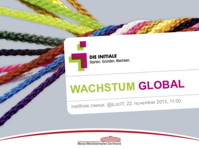 TUM GLOBAL WACHS IT, 22. november 20 atthias caesar, @iLoc m  13, 11:00