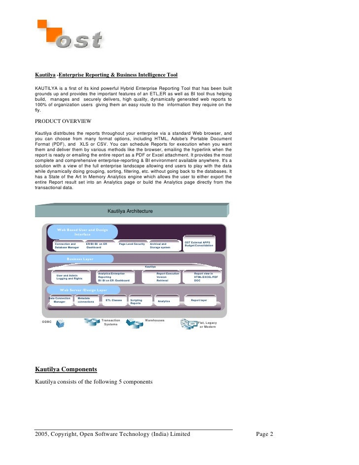 Initial Kautilya Brochure Doc Slide 2