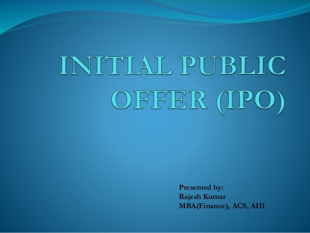 initial public offer The estimated price range for the initial public offering is $1500 to $1800 per  share of common stock, which would result in gross proceeds of.