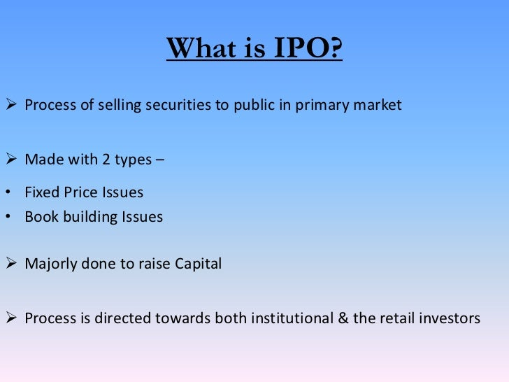 Which shares to sell first ipo