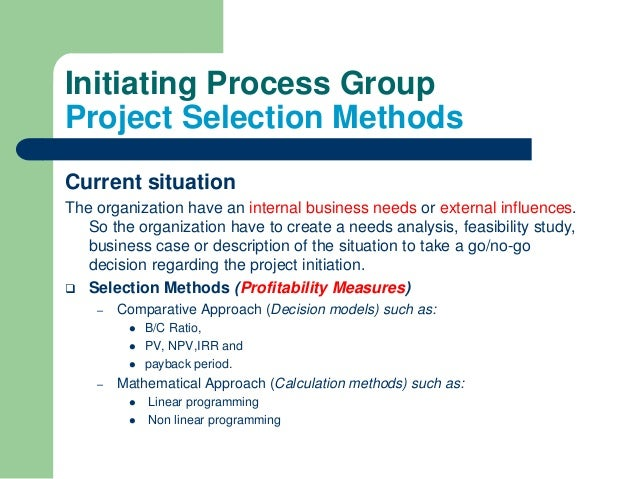 Templates by PMBOK® Guide Process Groups: Initiating ...