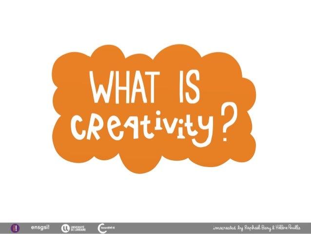 Initiation to creativity Slide 2
