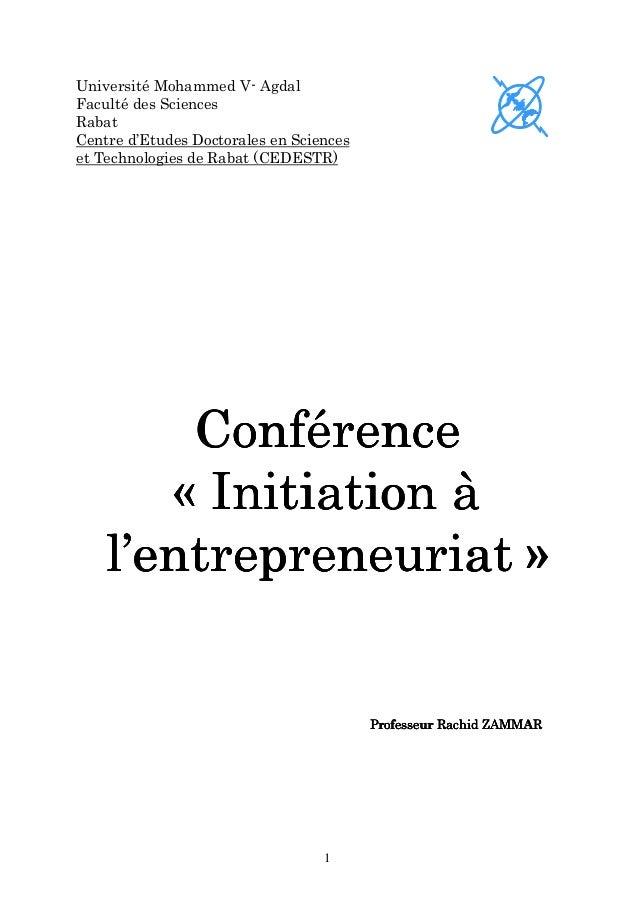 Université Mohammed V- AgdalFaculté des SciencesRabatCentre d'Etudes Doctorales en Scienceset Technologies de Rabat (CEDES...