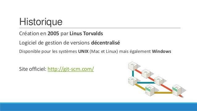 Architecture centralisée Exemple avec SVN Utilisé également par Team Foundation Server  Image extraite de http://hginit.co...