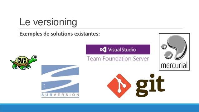 Présentation de Git