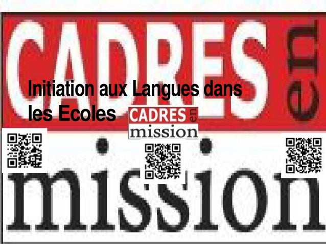 Initiation aux Langues dansles Ecoles