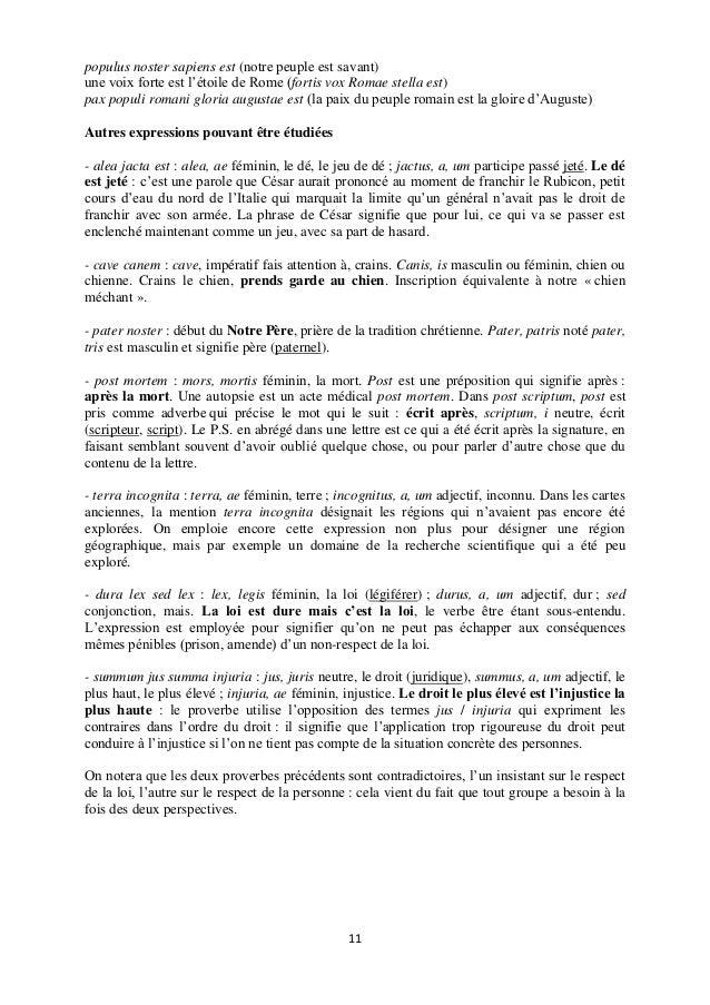 Initiation Latindufrancais