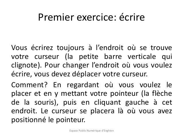 Initiation Au Traitement De Texte Avec Libre Office Writer