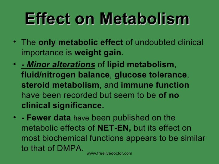 Effect on Metabolism <ul><li>The  only metabolic effect  of undoubted clinical importance is  weight gain .  </li></ul><ul...