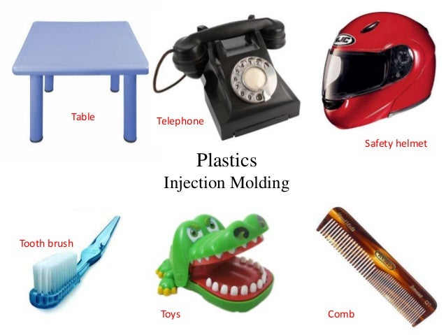Plastics Injection Molding Safety helmet Tooth brush Toys Comb Table Telephone