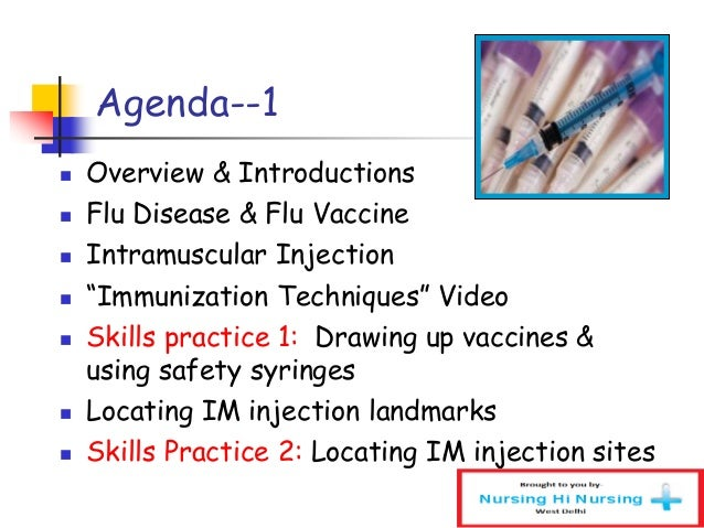 Injection training