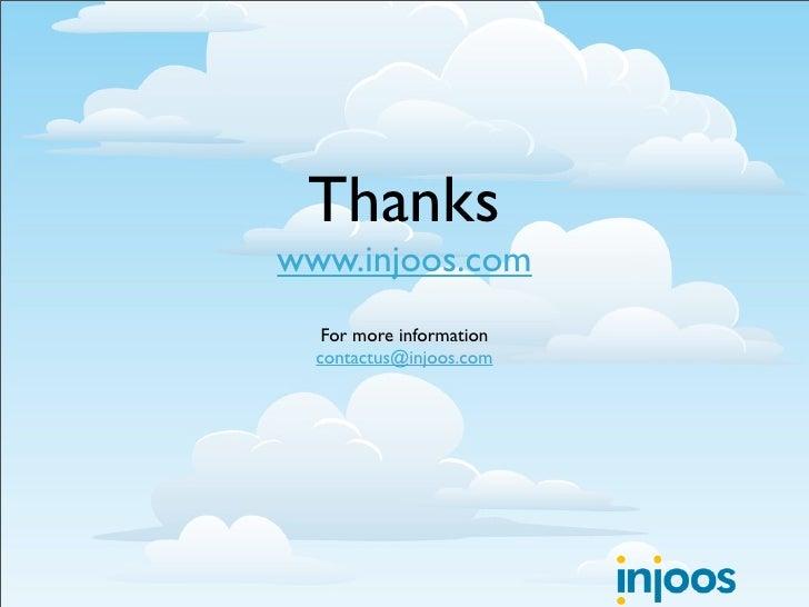 Thanks www.injoos.com    For more information   contactus@injoos.com
