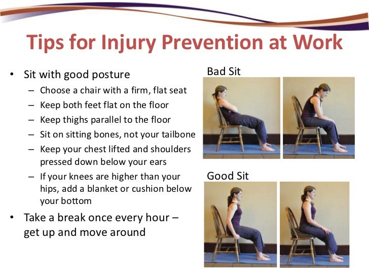 Injury Prevention At Home And At Work