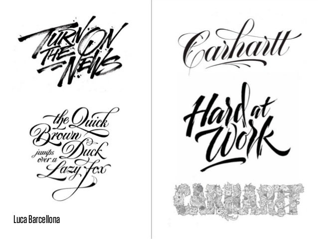 Hand & Ink, a long tradition of beautiful letters